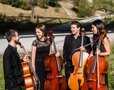 ASSAI cello quartet goes dancing again